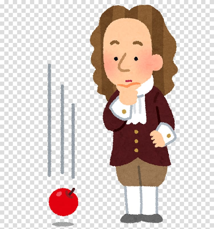 Isaac Newton Gravity Physics Newton\\\'s first law, newton.