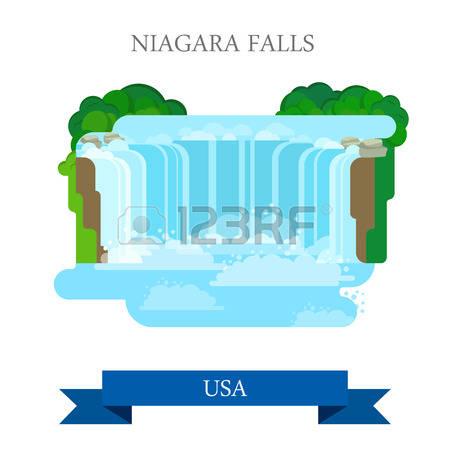 159 Niagara Falls Stock Vector Illustration And Royalty Free.