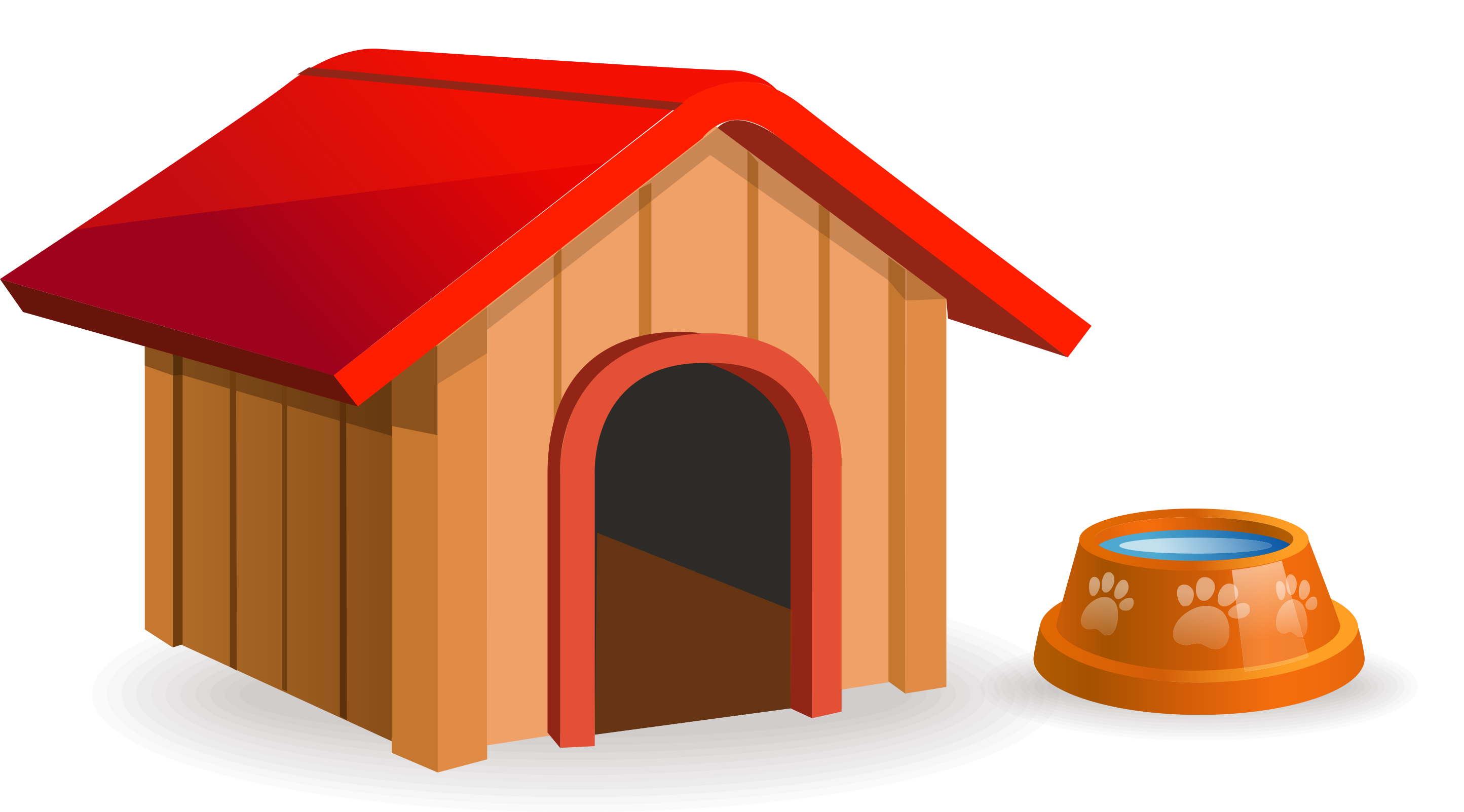 Doghouse clipart niche, Doghouse niche Transparent FREE for download.