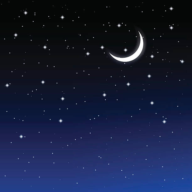 Starry night sky clipart 1 » Clipart Station.