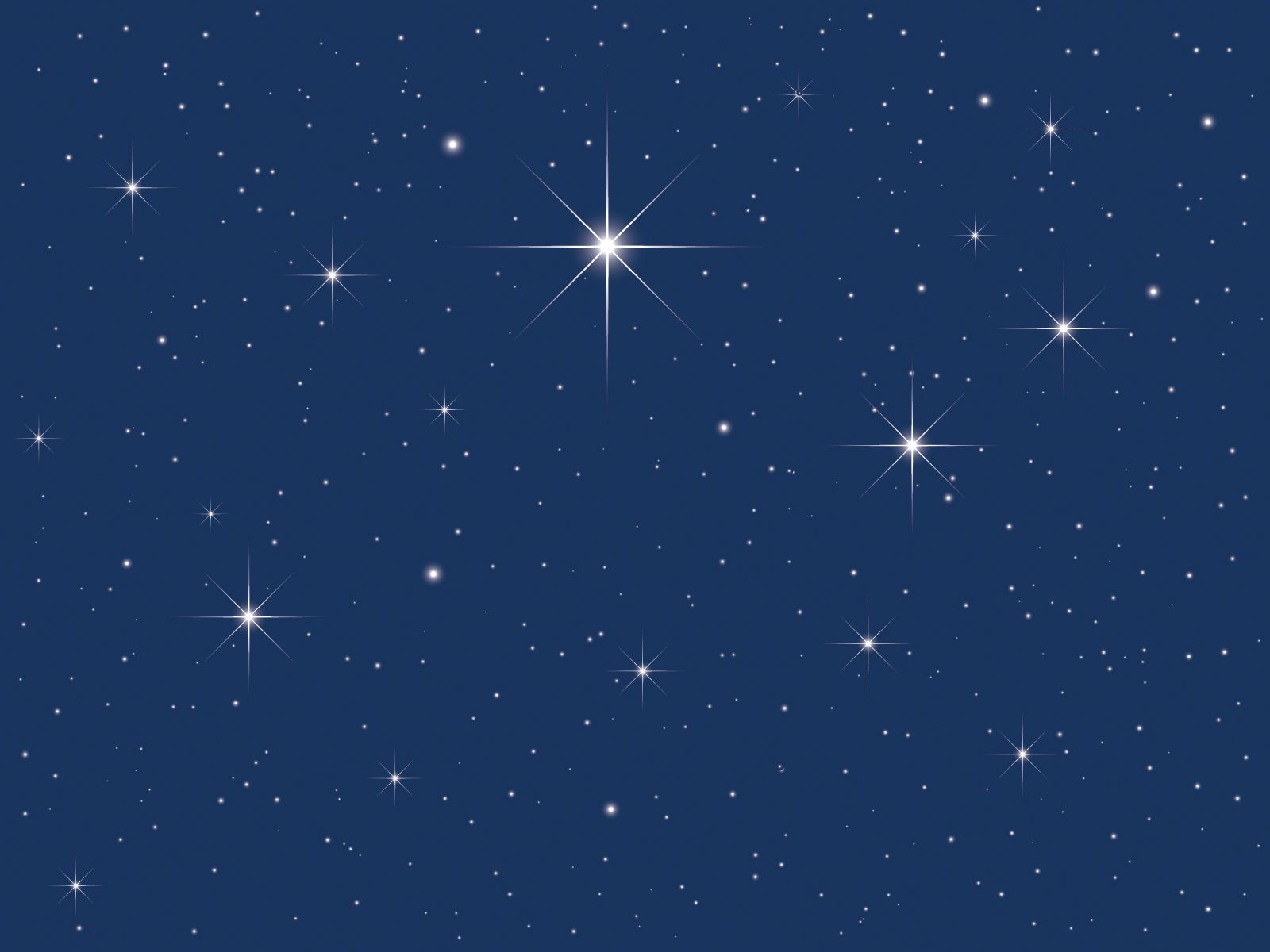 Starry Sky Clipart #1.