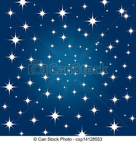 Night Stars Clipart.