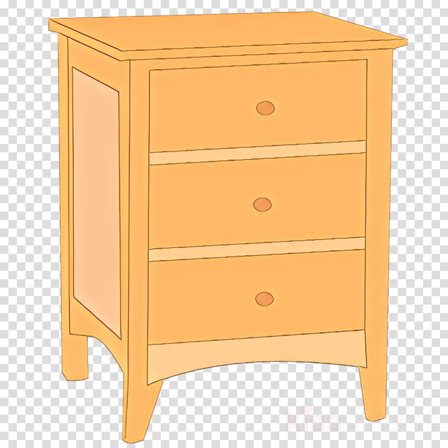 drawer furniture chest of drawers nightstand dresser clipart.