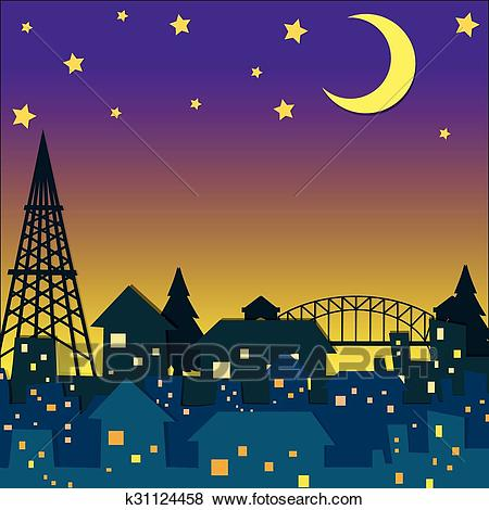 Night time clipart 1 » Clipart Station.