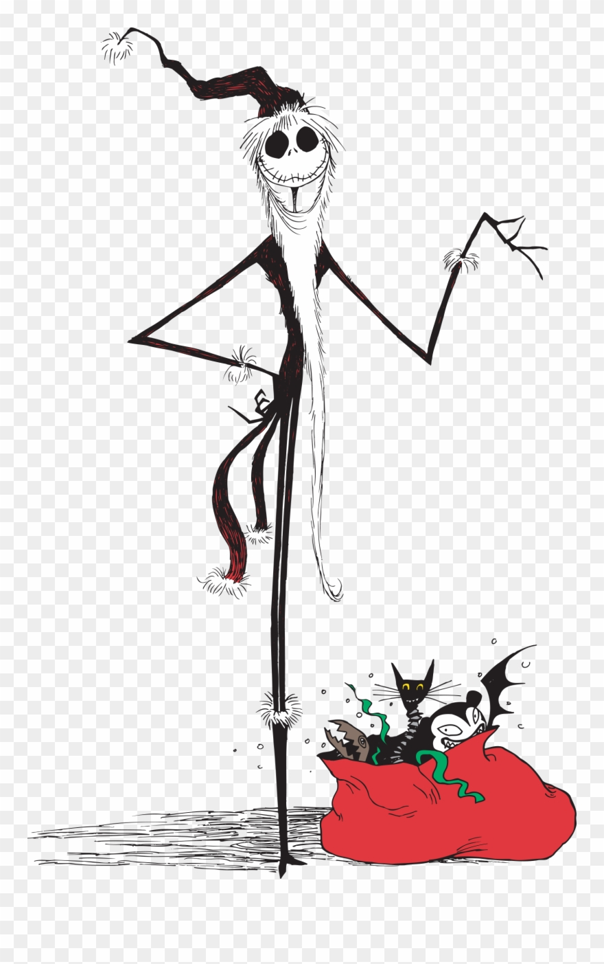 Nightmare Before Christmas Jack Christmas Clipart (#471794.