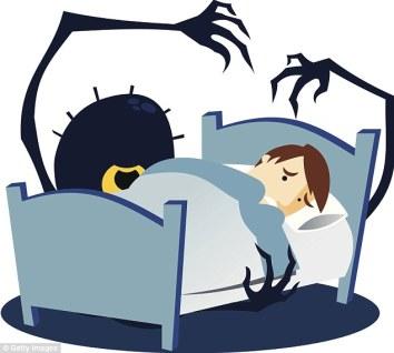 Urspo has bad dreams.