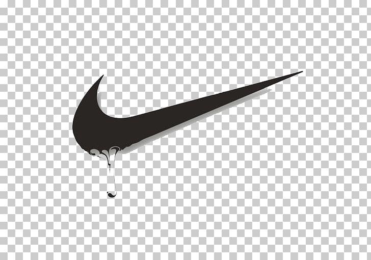 Nike Swoosh Logo, Nike logo material PNG clipart.