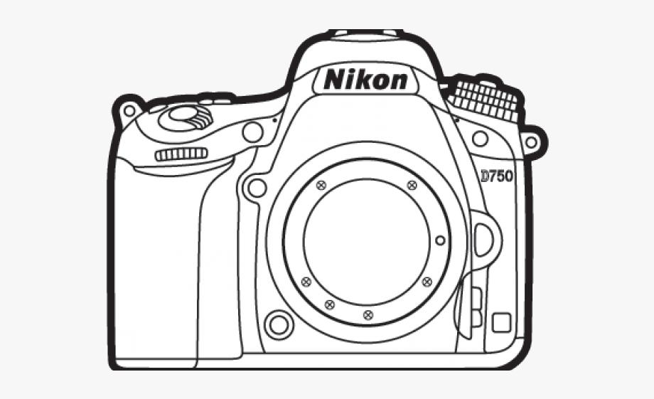 Nikon Clipart Outline.