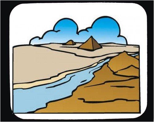 Nile River Clip Art.