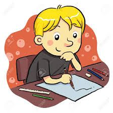 Image result for kids writing clipart free.