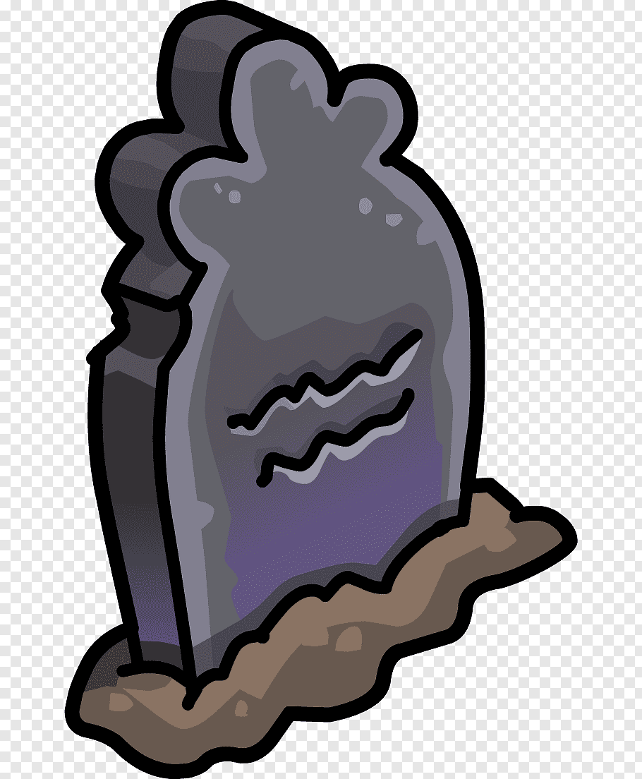 Club Penguin Headstone Party Tomb, igloo free png.