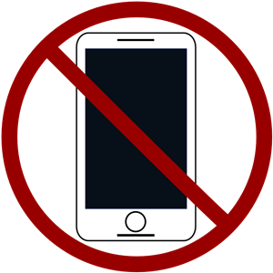 No Cell Phones Free Clipart Download.