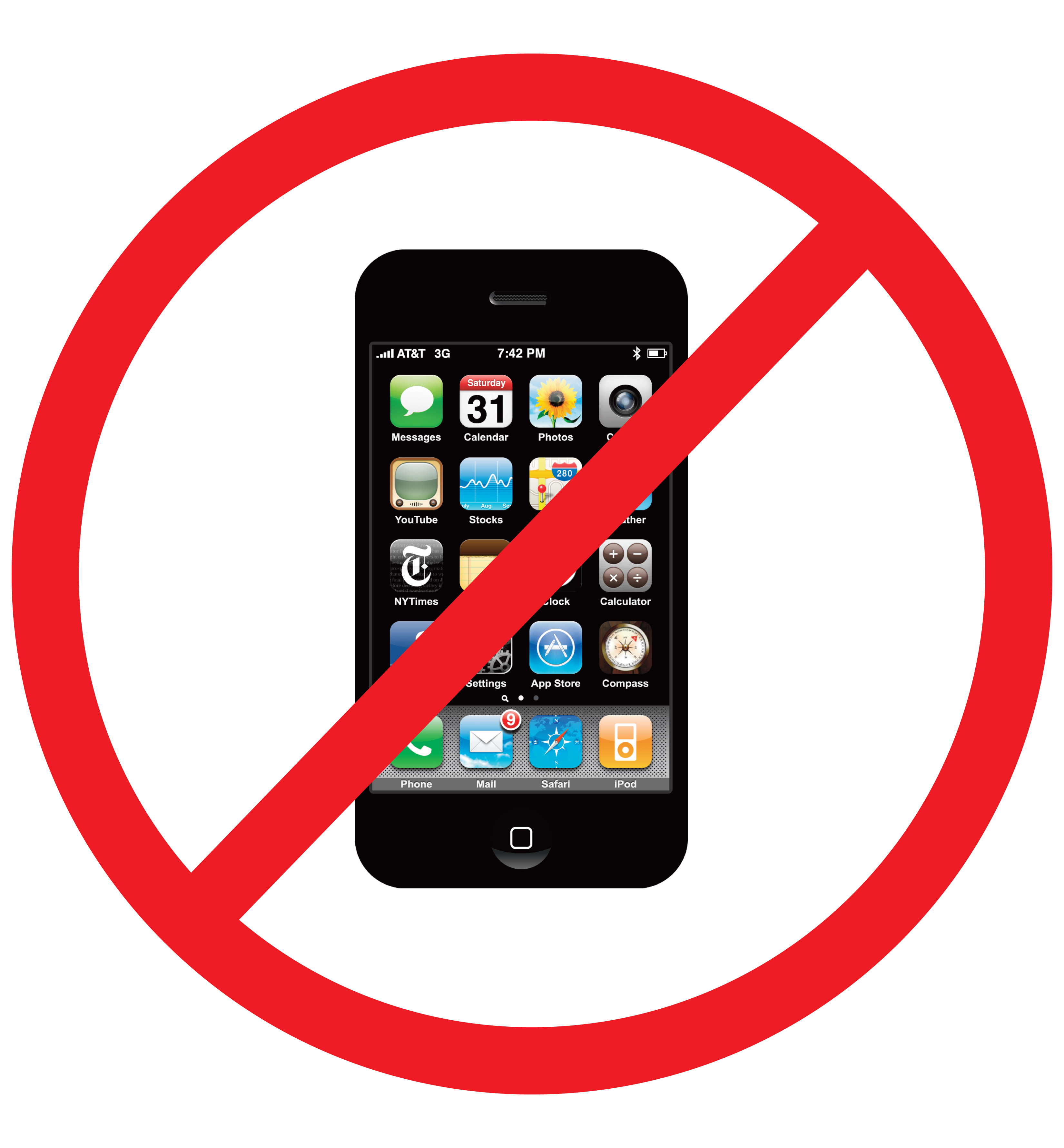 Free No Cell Phone Sign, Download Free Clip Art, Free Clip.
