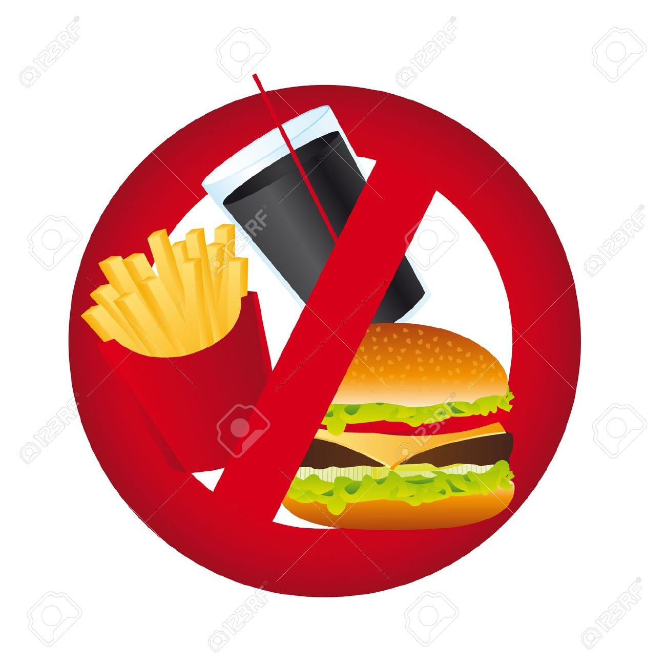 No Food Free Clipart.