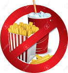 Burger Fries Softdrink in clipart no fast food collection.