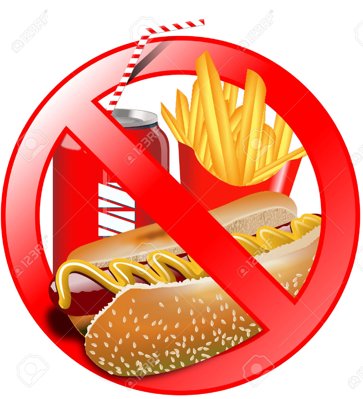 clipart no fast food - Clipground