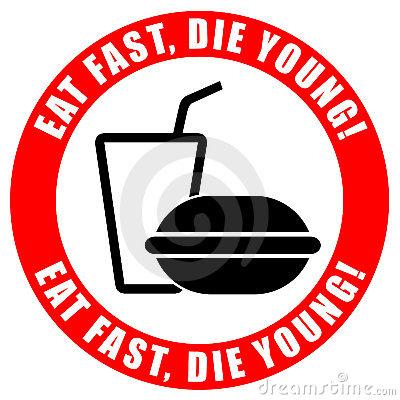 Images: No Junk Food Clipart.