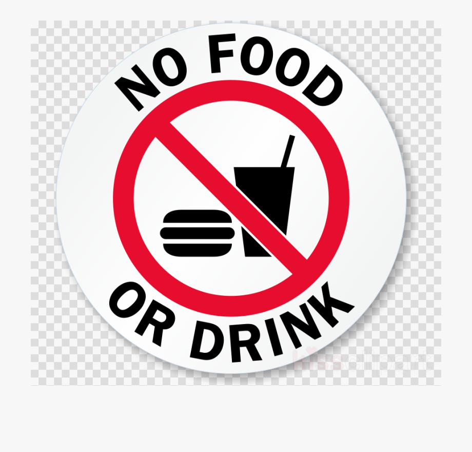 No Food Or Drink Clipart.