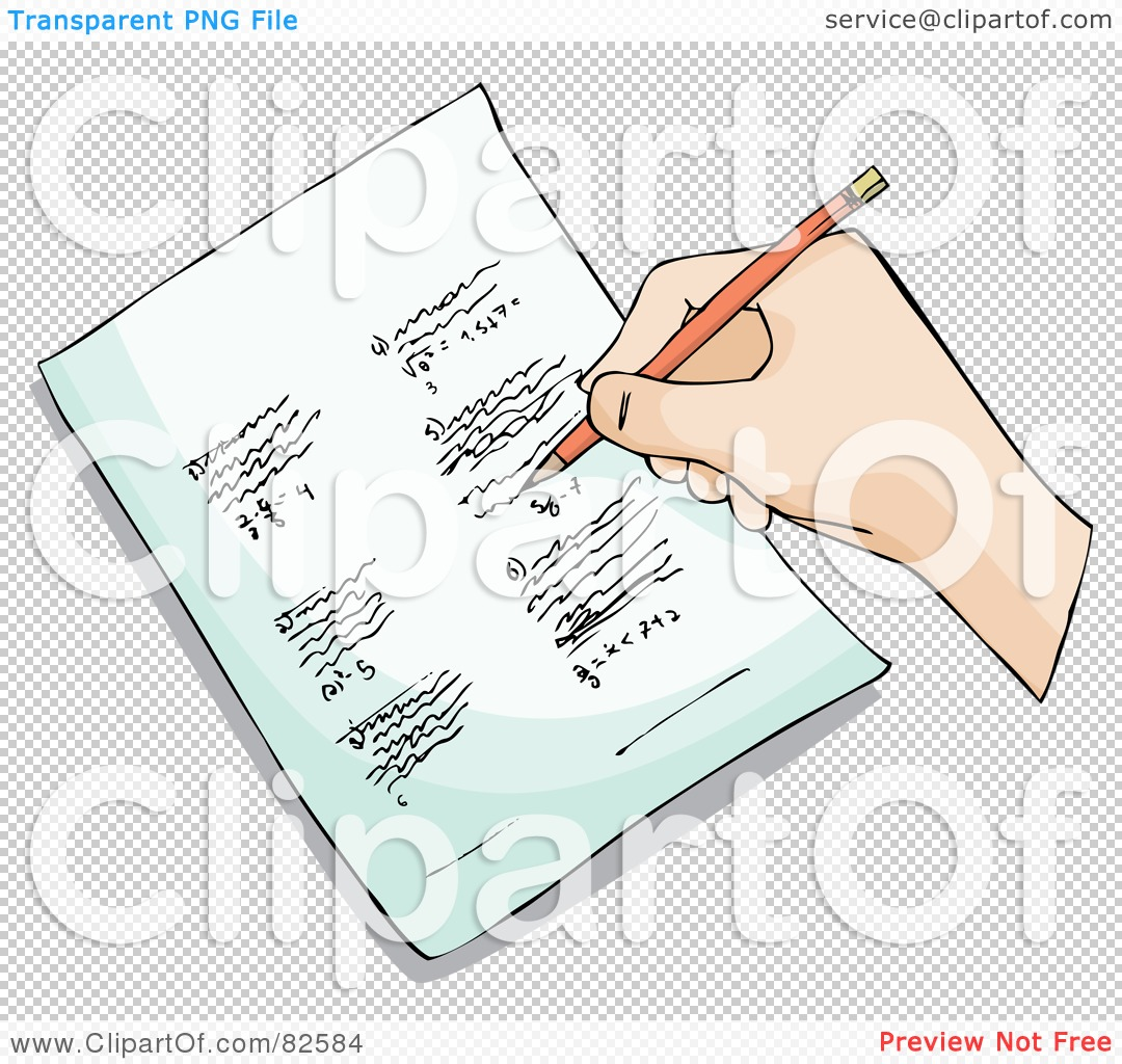 Hand In Homework Clipart.