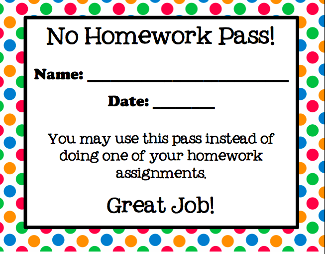 Clipart No Homework Turned In.