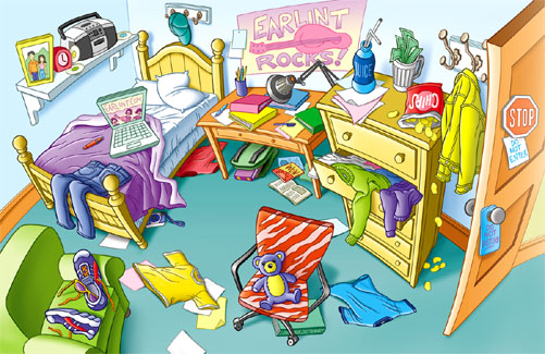 Messy room essay.