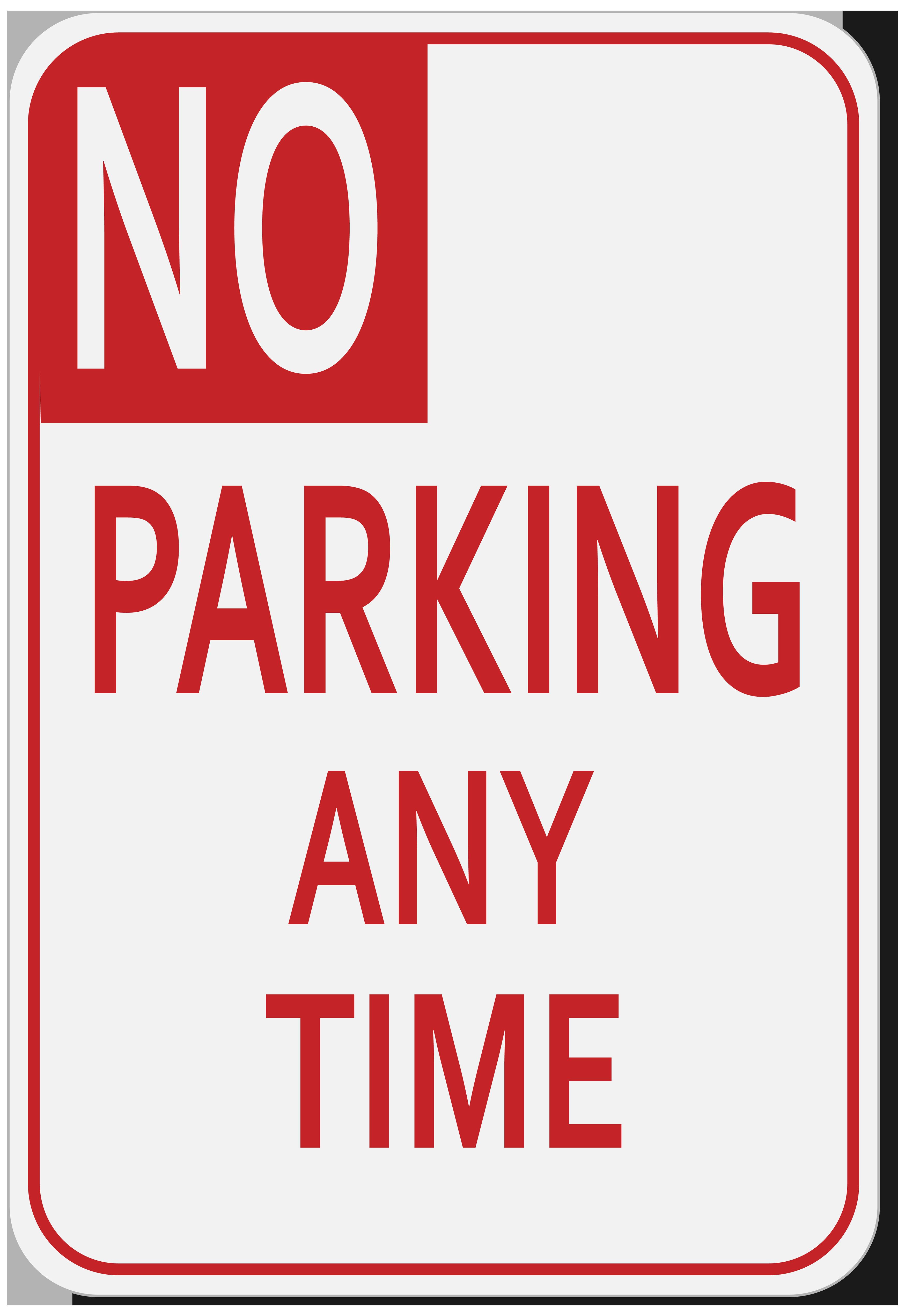 No parking sign cliparts.