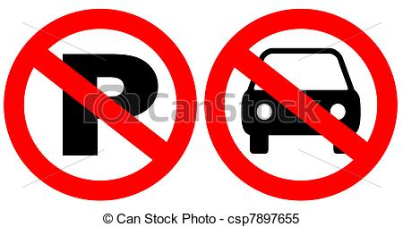 Free No Parking Clipart.