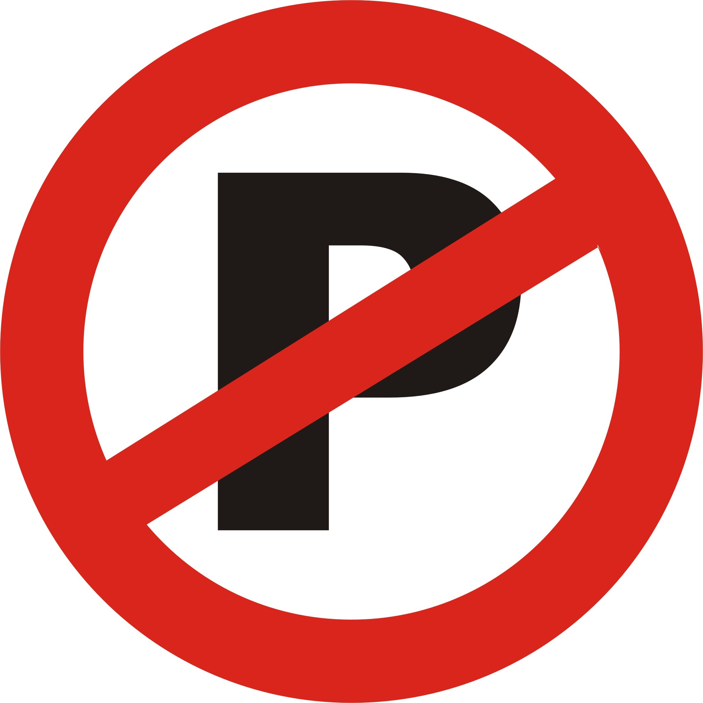 Printable Parking Signs.