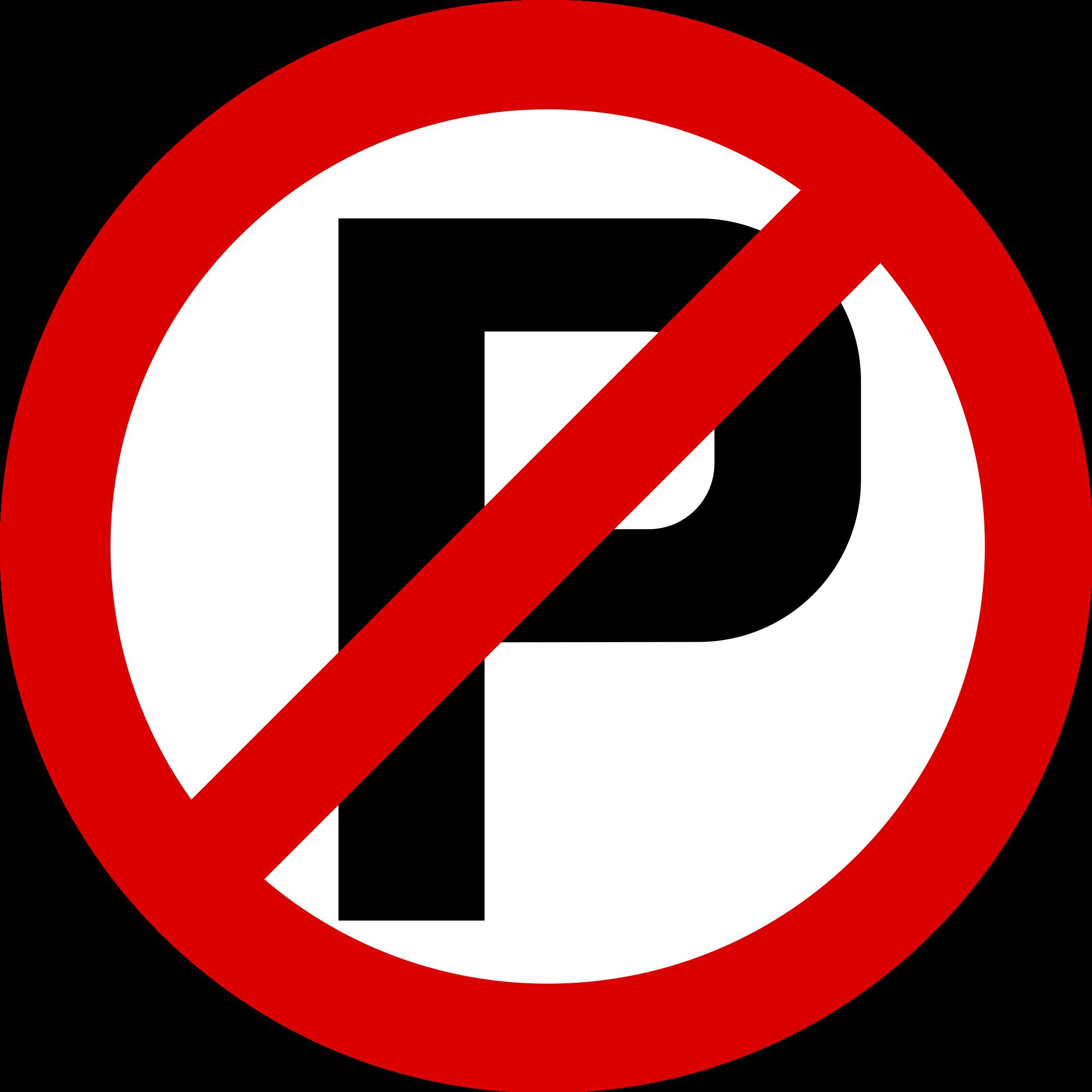 No Parking Vector.