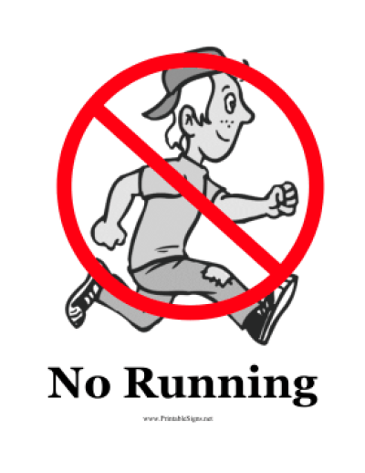 Download Free png No Running Class Clipart & Clip Art Images #23759.