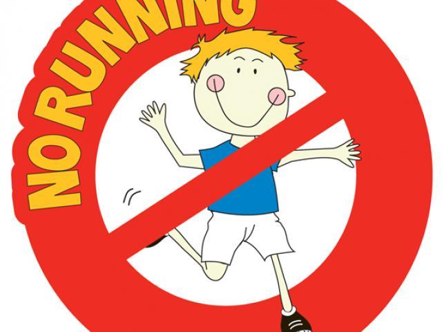 No Running Cliparts 8.