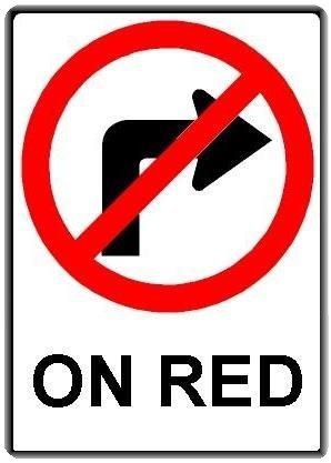 No Red Light.