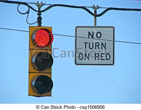 Stock Image of traffic light.