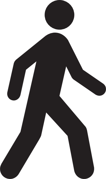 Clipart People Walking No Background.