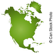North america map Clip Art and Stock Illustrations. 19,337 North.