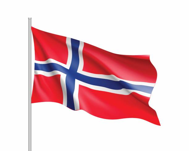 Best Norway Flag Illustrations, Royalty.