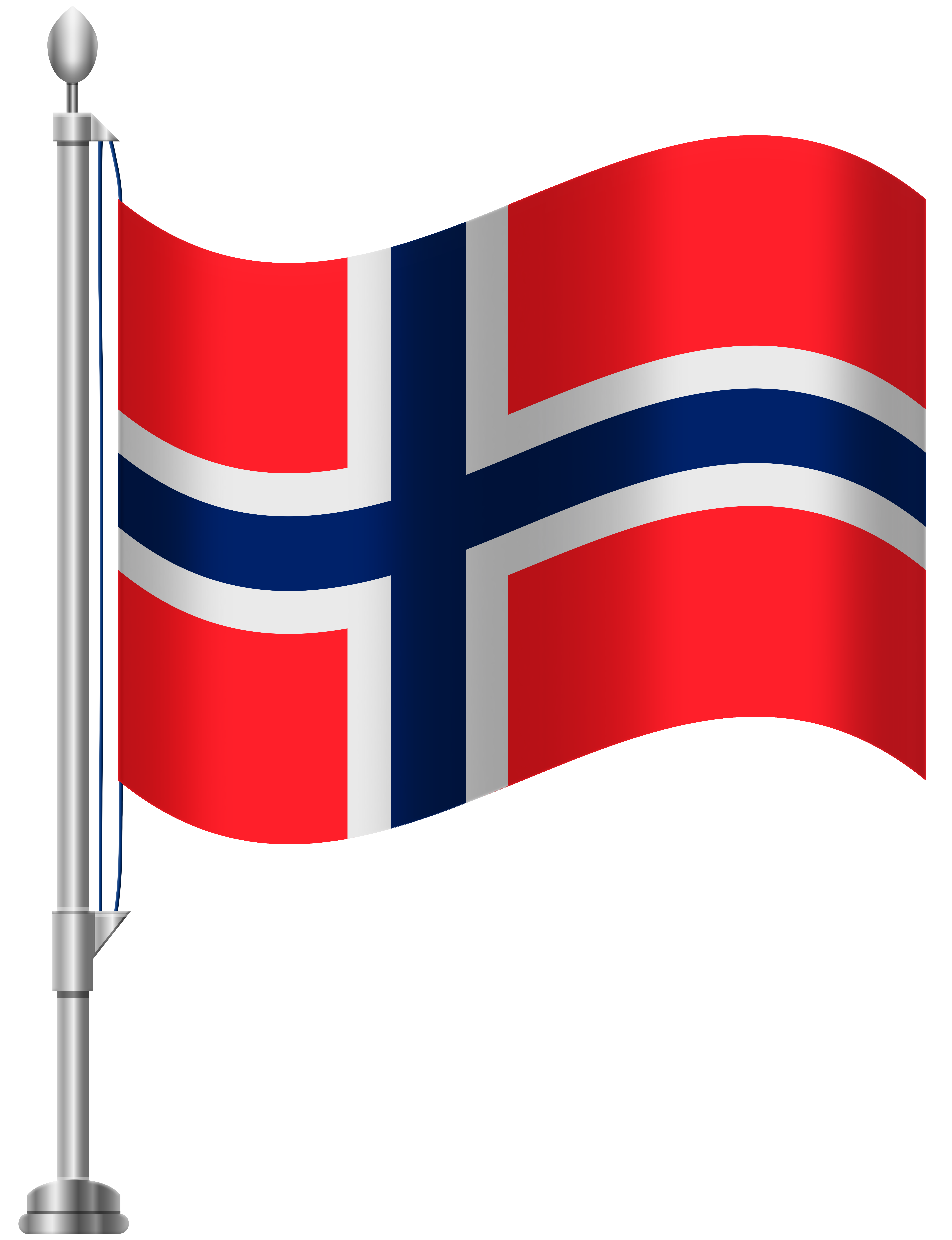 Norway Flag PNG Clip Art.