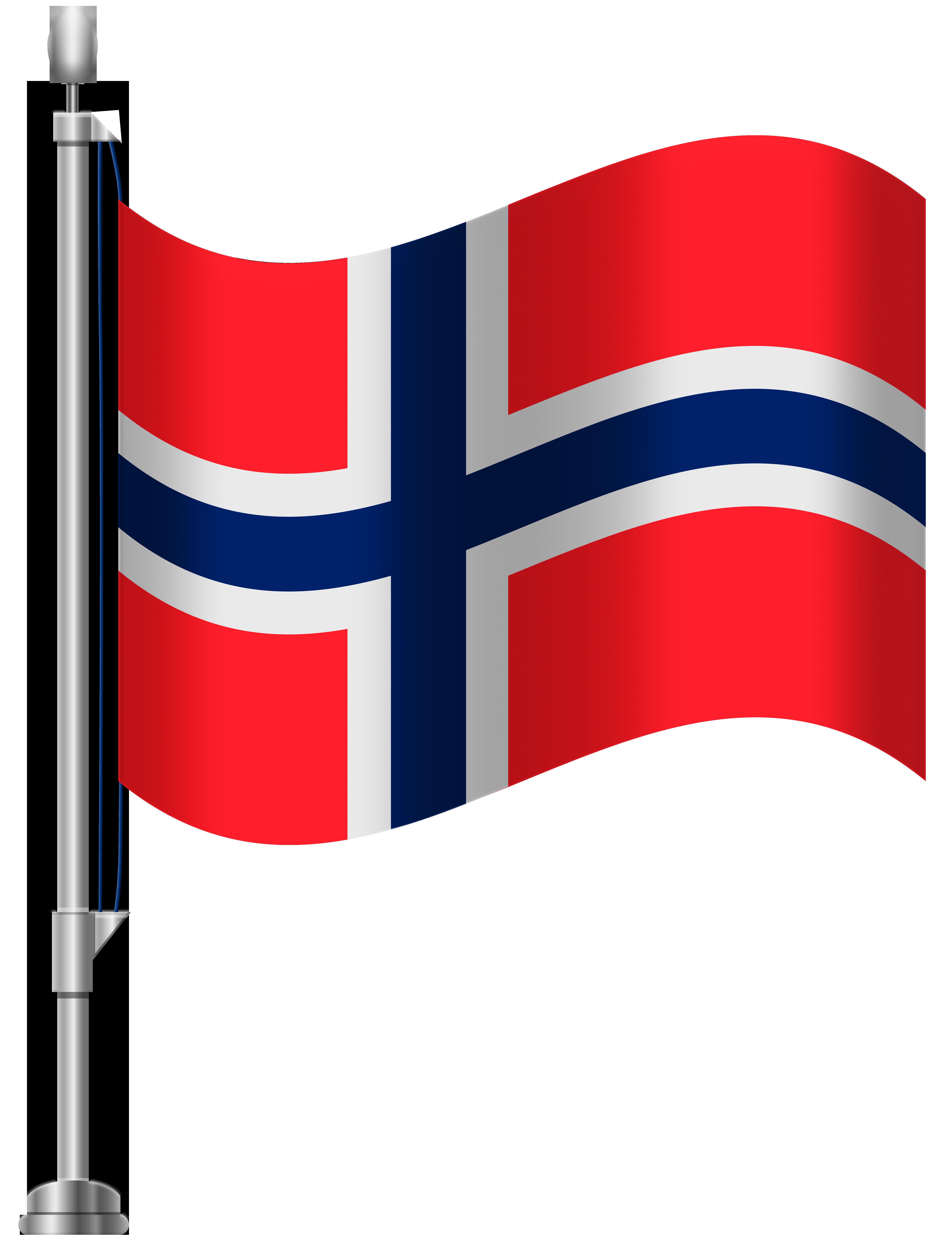 Norway Flag PNG Clip Art.