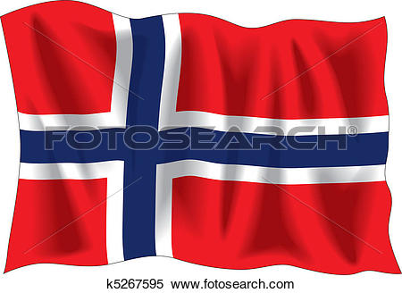 Norwegian flag Clip Art Illustrations. 599 norwegian flag clipart.