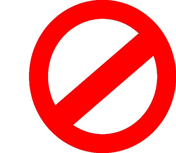 No clipart symbol, No symbol Transparent FREE for download.