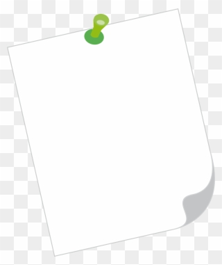 Free PNG Note Paper Clip Art Download.