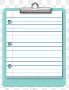 Note Paper, School Supplies, Paper PNG Transparent Image and Clipart.