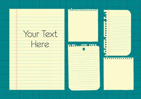 Free Note Paper Vector Clip Art (Free) Clipart and Vector Graphics.