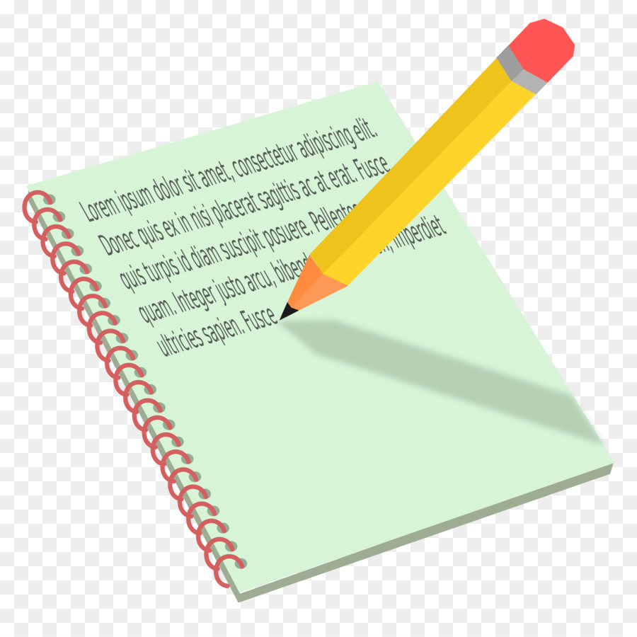 Pen And Notebook Clipart clipart.