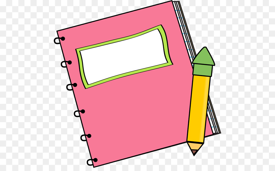 Notebook Cartoon clipart.