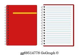 Notebook Clip Art.