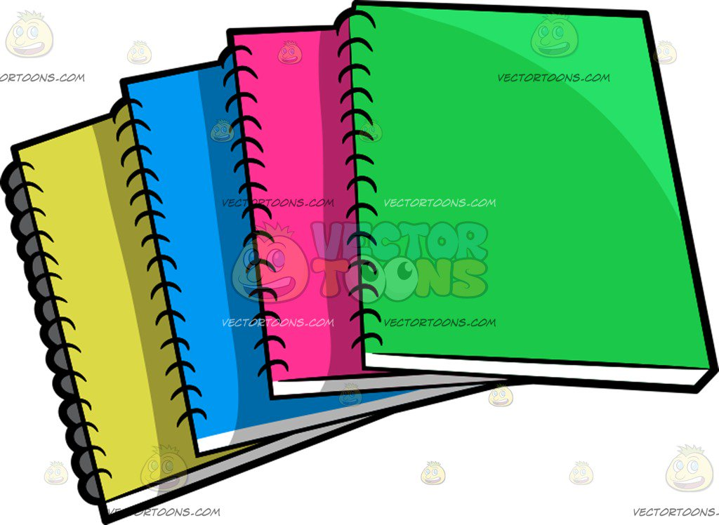 Clipart notebooks 3 » Clipart Station.