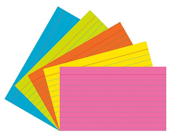 Note Cards Clipart.
