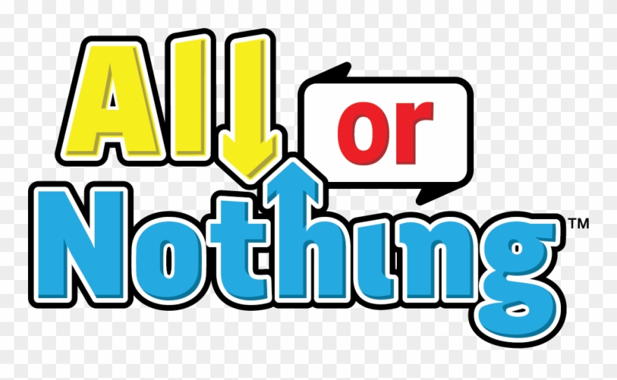 All Or Nothing Clipart (#4947122).