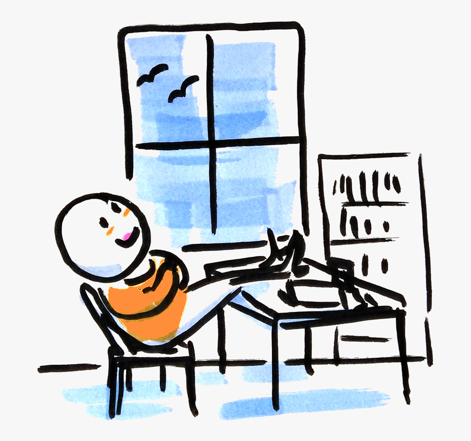 Busy Doing Nothing Clipart, Cliparts & Cartoons.
